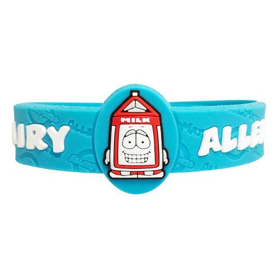 AllerMates Children's Allergy Alert Bracelet - Dairy, , large image number 0
