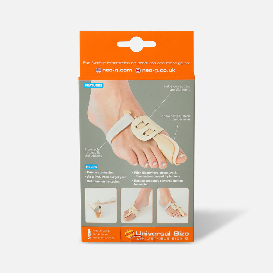 Neo G Bunion Correction Night Splint, Right, One Size, , large image number 1