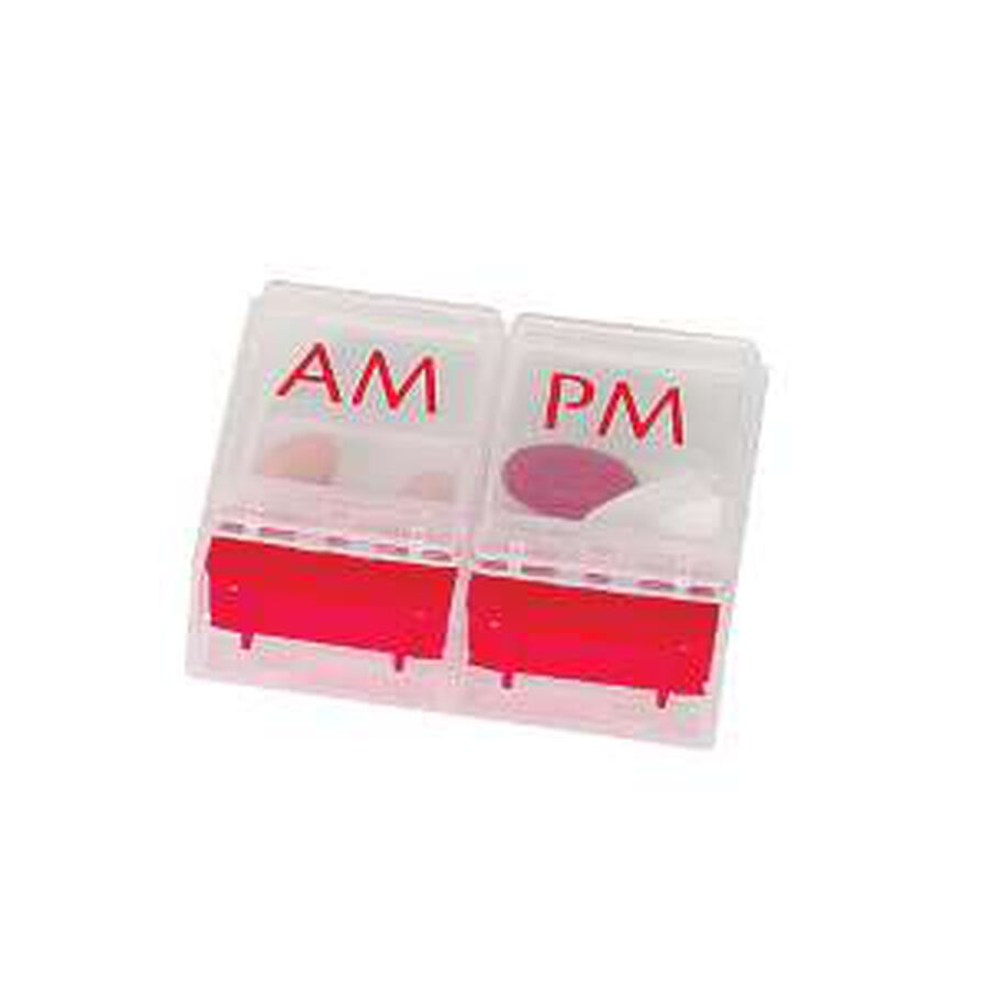 EZY Dose Weekly/Push Button Pill Planner, , large image number 0