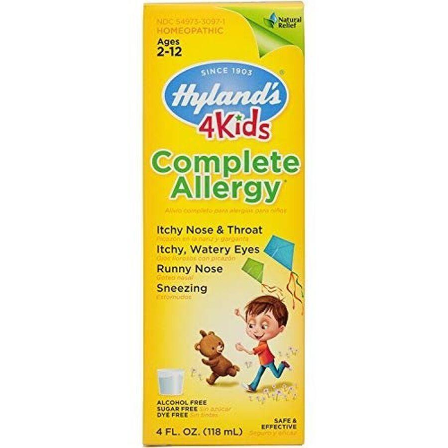 Hyland's 4 Kids Complete Allergy, 4 oz, , large image number 0