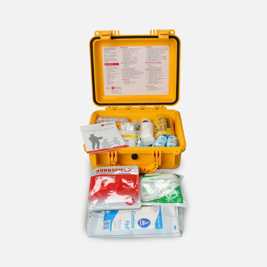 Genuine First Aid Waterproof First Aid Kit Class B ANSI Type IV, , large image number 1
