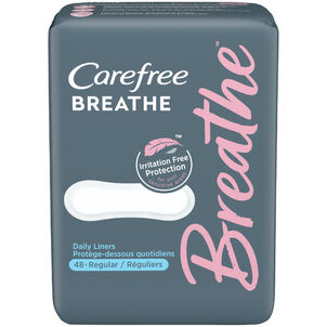 Carefree Breathe Wrapped Liners