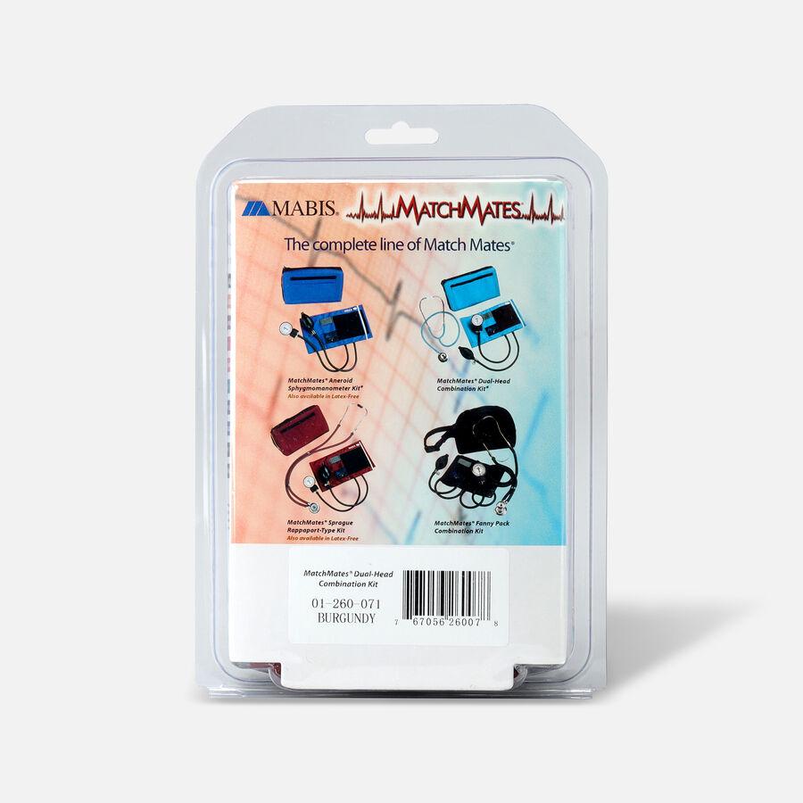 MatchMates Dual Head Stethoscope Combination Kit, Burgundy, , large image number 2