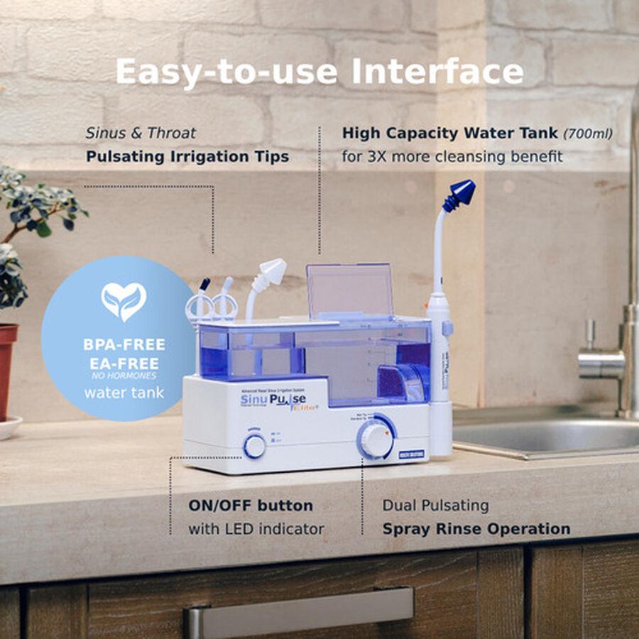 SinuPulse Elite, Advanced Nasal Sinus Irrigation System, Model SP100, , large image number 5