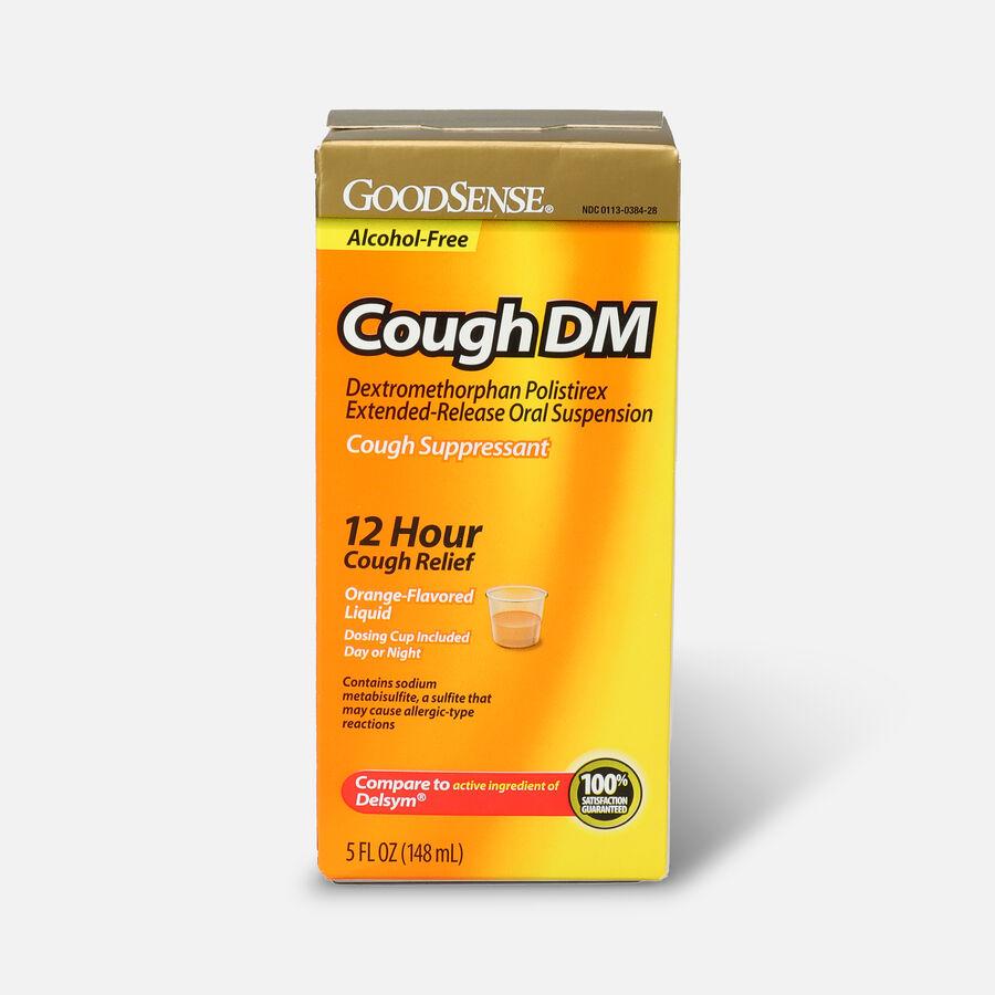 GoodSense® Cough DM 12 Hr Cough Relief Orange (Alcohol Free), 5 fl oz, , large image number 0