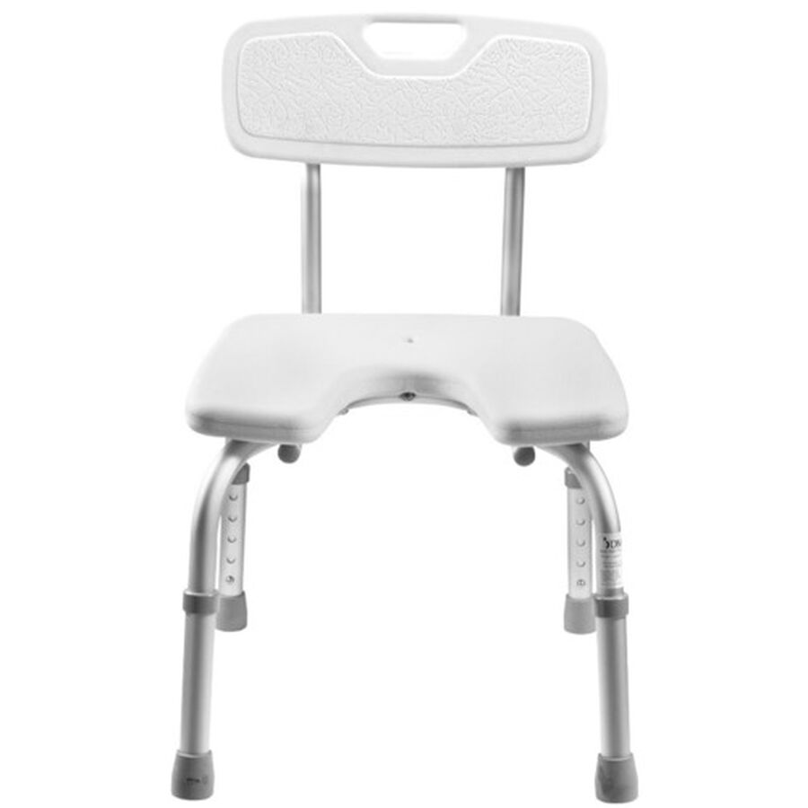 DMI® U-Shape Bath and Shower Chair Bench, , large image number 1