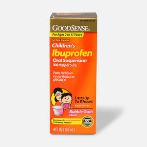 GoodSense® Children's Ibuprofen 100mg Oral Suspension, 4 fl oz