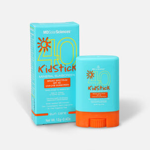 MDSolarSciences Mineral Sunscreen KidStick SPF 40, 0.4 oz.