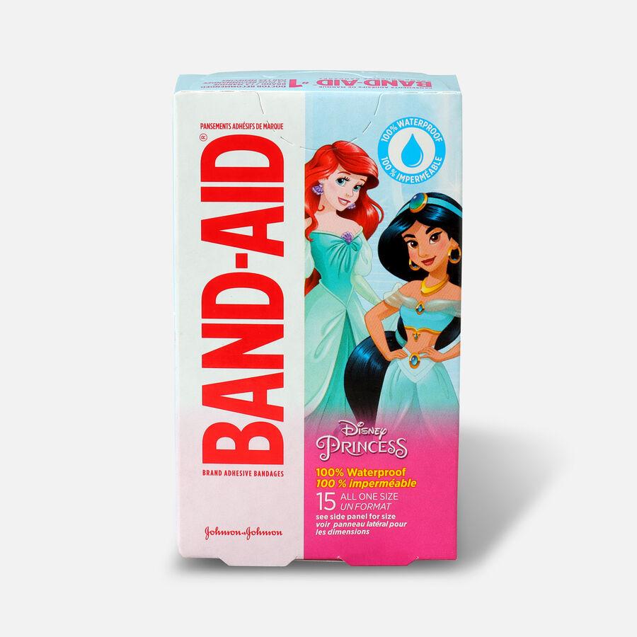 Band-Aid Disney Princess Waterproof Bandages - 15ct, , large image number 0