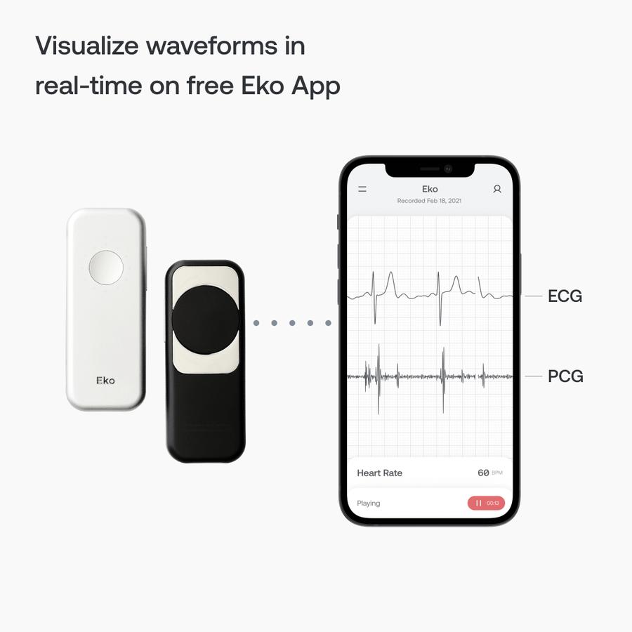Eko DUO ECG + Digital Stethoscope, , large image number 5