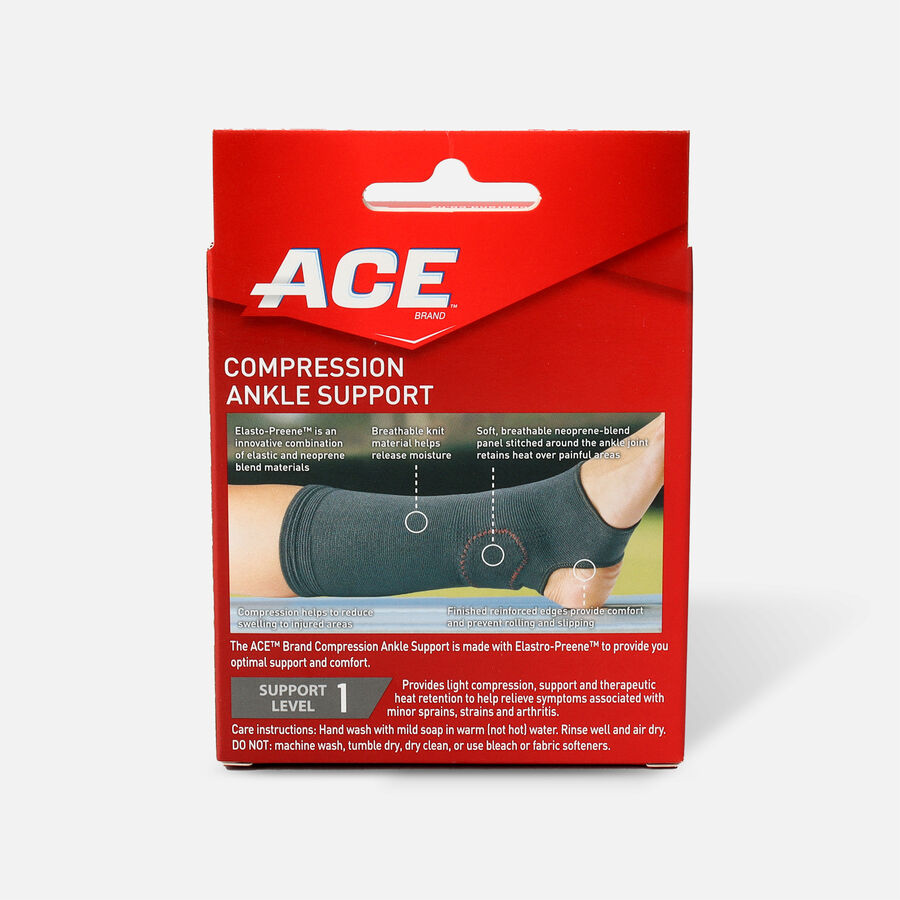 Ace Elasto-Preene Ankle Support, S/M, , large image number 1