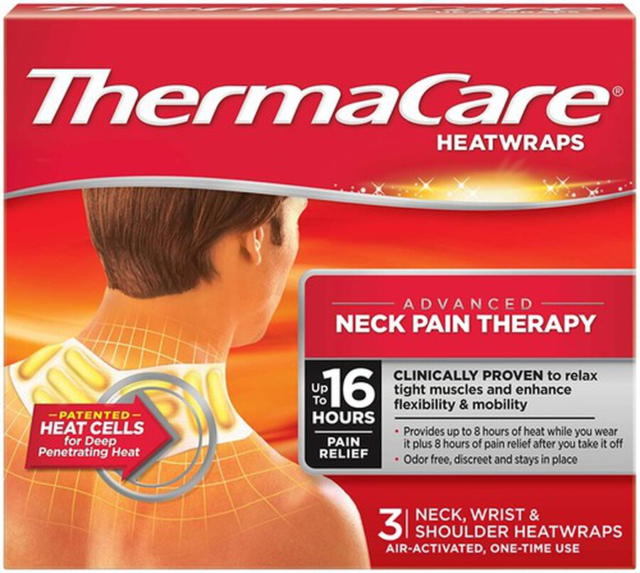 Thermacare Heat Wrap Neck, Shoulder and Wrist, 8HR, 3 ct, , large image number 5