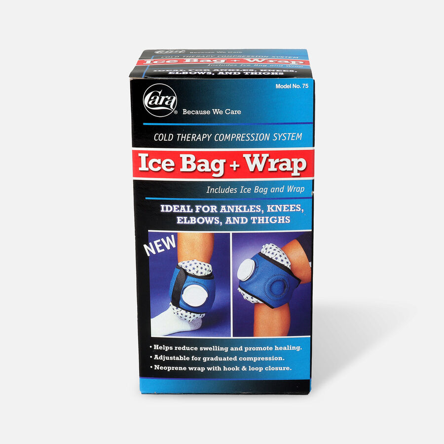 Compression Ice Bag with Wrap Strap - 1 Ea, , large image number 0