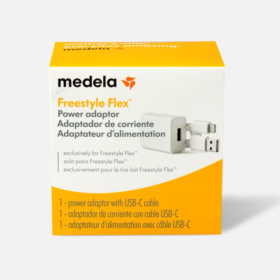 Medela Freestyle Flex Breast Pump Replacement Power Adaptor, , large image number 0