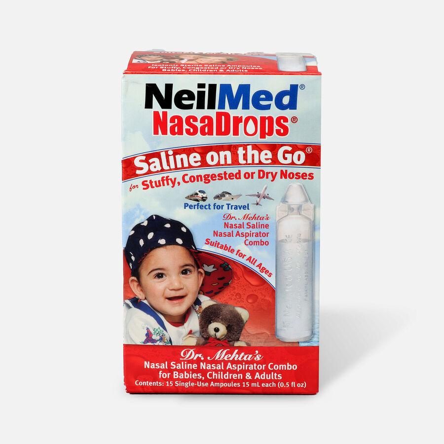NeilMed NasaDrops Single Use Vials, 15 ea, , large image number 0