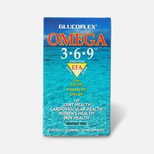 Windmill Glucoflex Omega 3-6-9 Softgels, 90 ea