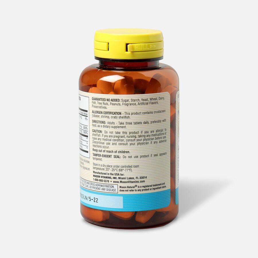 Mason Vitamins Natural Glucosamine Chondroitin 1500/1200 Plus MSM 500, 90 Tablets, , large image number 2
