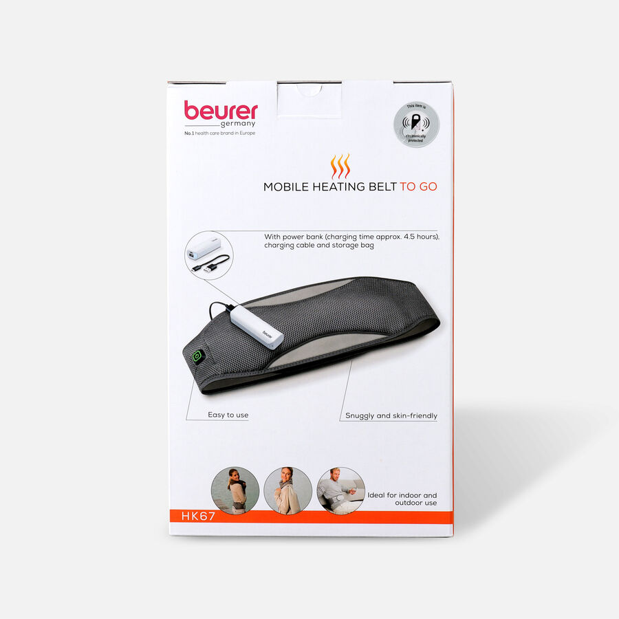 Beurer Mobile Wireless Heating Pad, , large image number 1