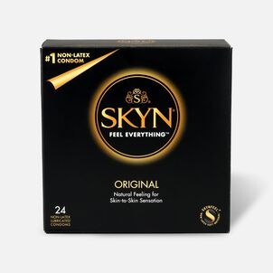 Lifestyles SKYN Original Non-Latex Condoms, 24 Count