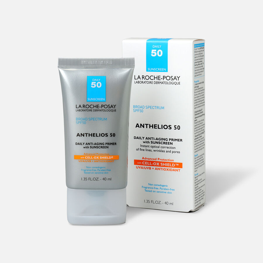 La Roche-Posay Anthelios Daily Wear Primer Face Sunscreen, SPF 50 with Antioxidants, 1.35 Fl. Oz., , large image number 3