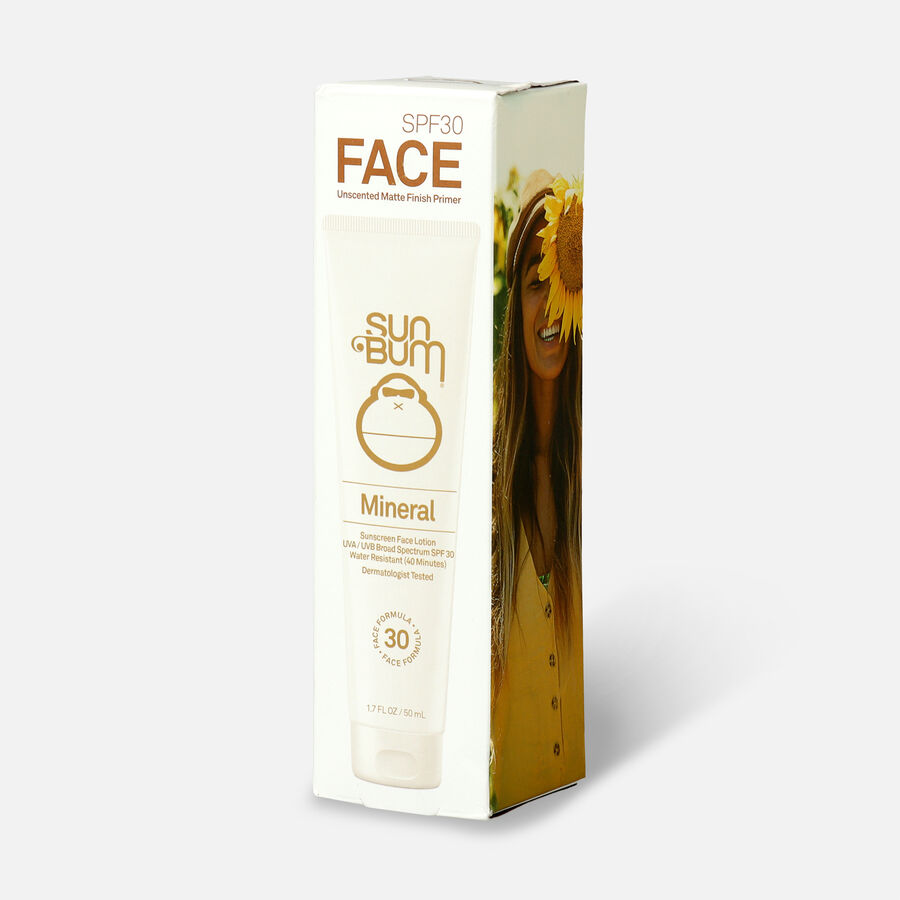 Sun Bum Mineral SPF 30 Sunscreen Face Lotion, 1.7oz, , large image number 2