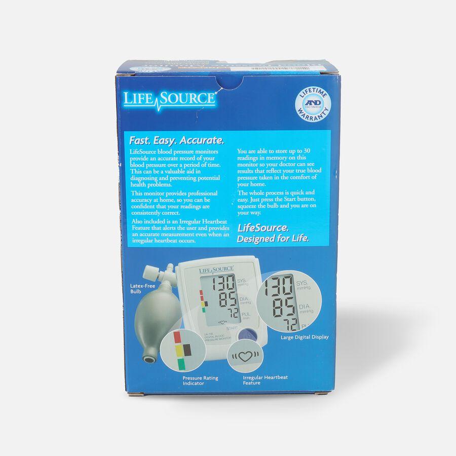 Life Source Advanced Blood Pressure Monitor Manual Inflate UA-705VL, , large image number 1