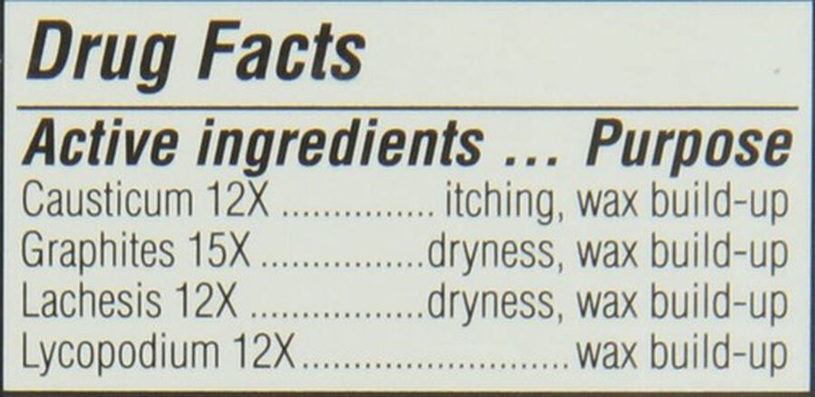 Similasan Ear Wax Relief, 0.33 fl. oz., , large image number 3
