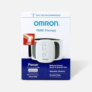 OMRON Focus TENS Therapy for Knee, Wearable, Wireless