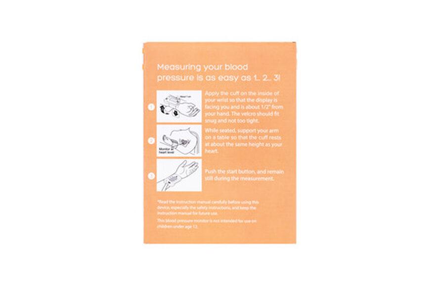 Caring Mill® Digital Wrist Blood Pressure Monitor, , large image number 8