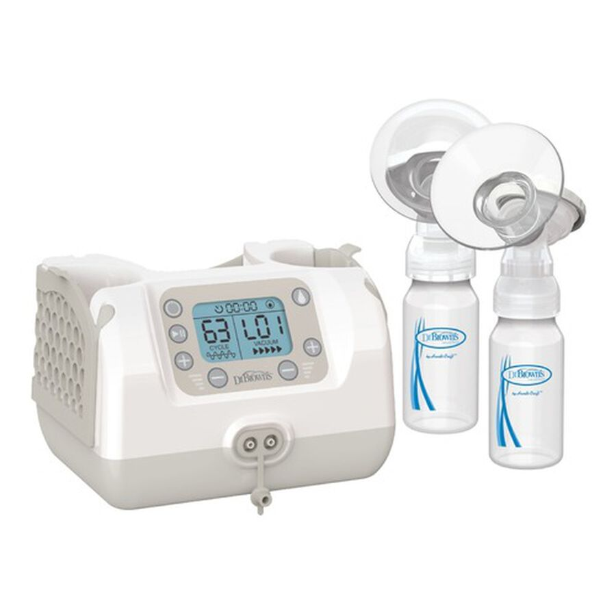 Dr. Brown's Custom Flow Double Electric Breast Pump, , large image number 1