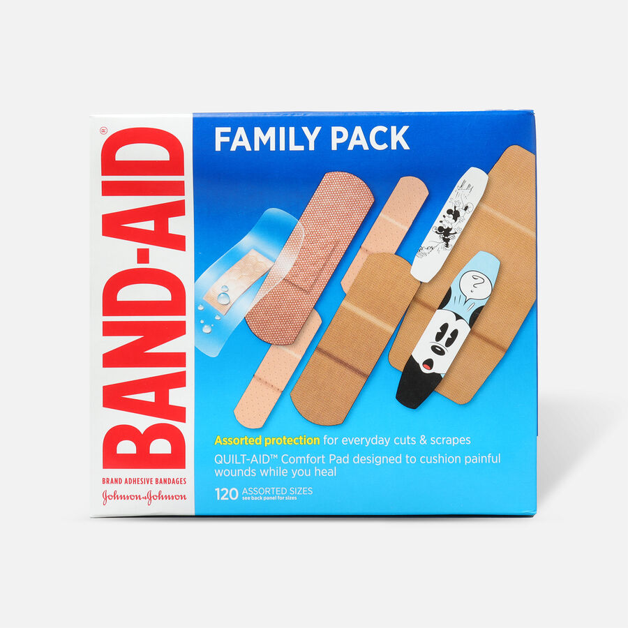 Band-Aid Adhesive Bandages Family Pack, 110ct., , large image number 0