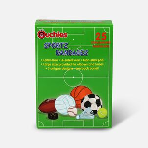 Ouchies Sportz Bandages for Kids, 25 ct