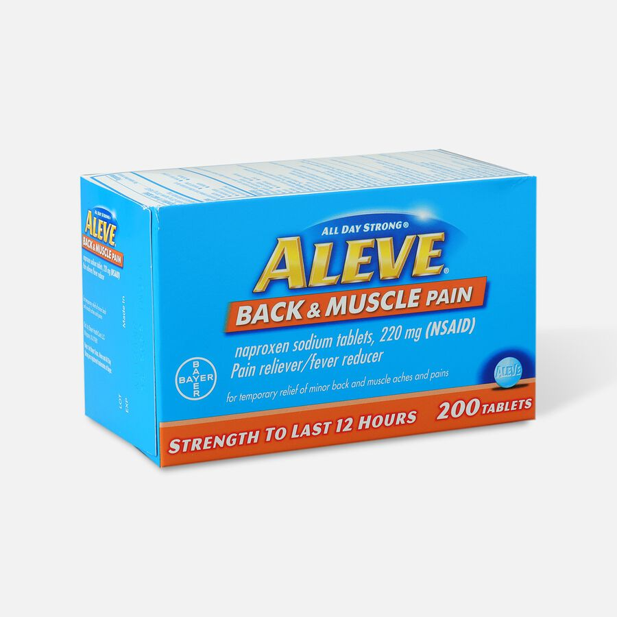 Aleve Back & Muscle Pain, 200ct, , large image number 2