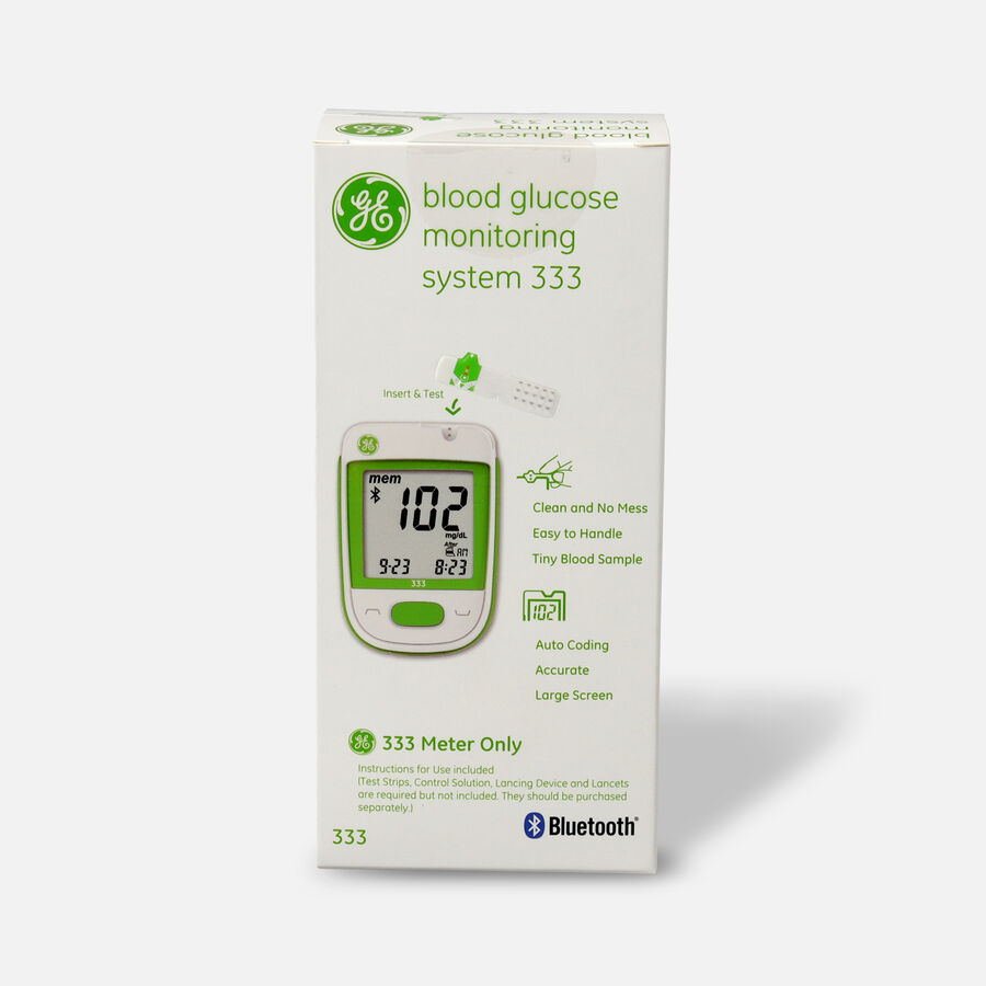 GE333 Blood Glucose Monitoring System, , large image number 1