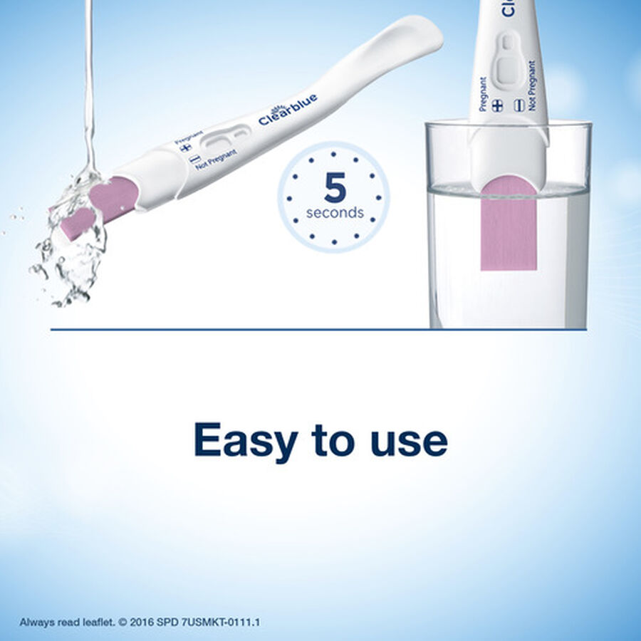 Clearblue Rapid Detection Pregnancy Test - 2ct, , large image number 4