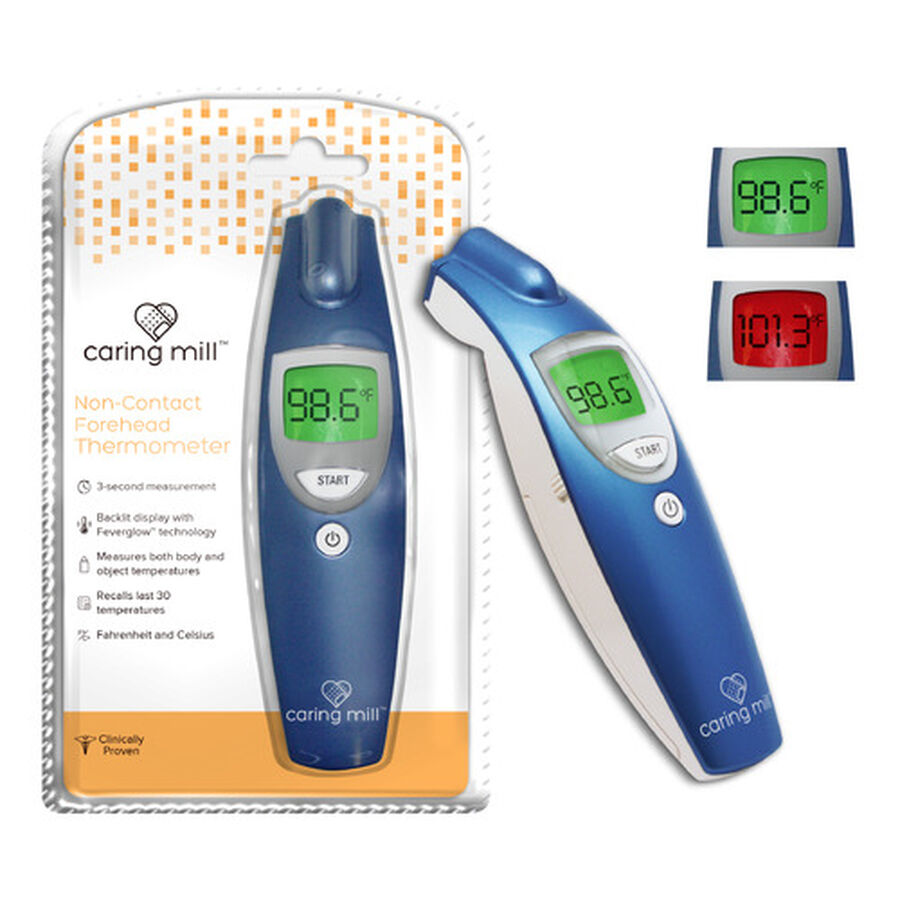 Caring Mill® Non touch Forehead Thermometer, , large image number 1