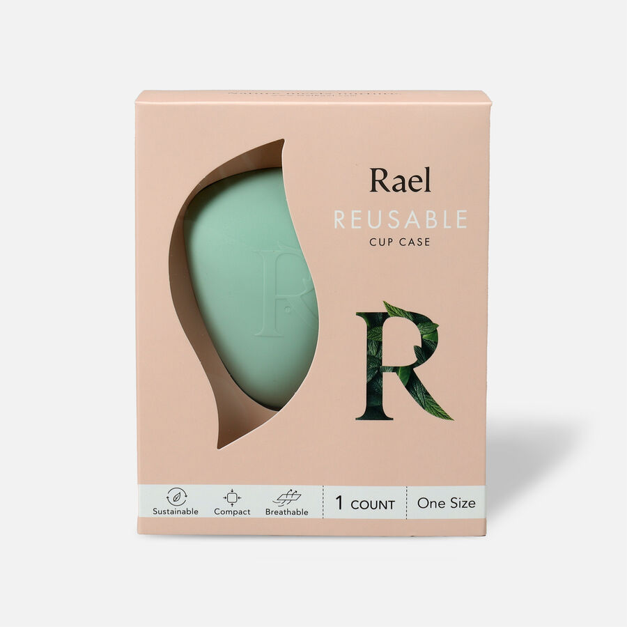 Rael Reusable Menstrual Cup Case, , large image number 0
