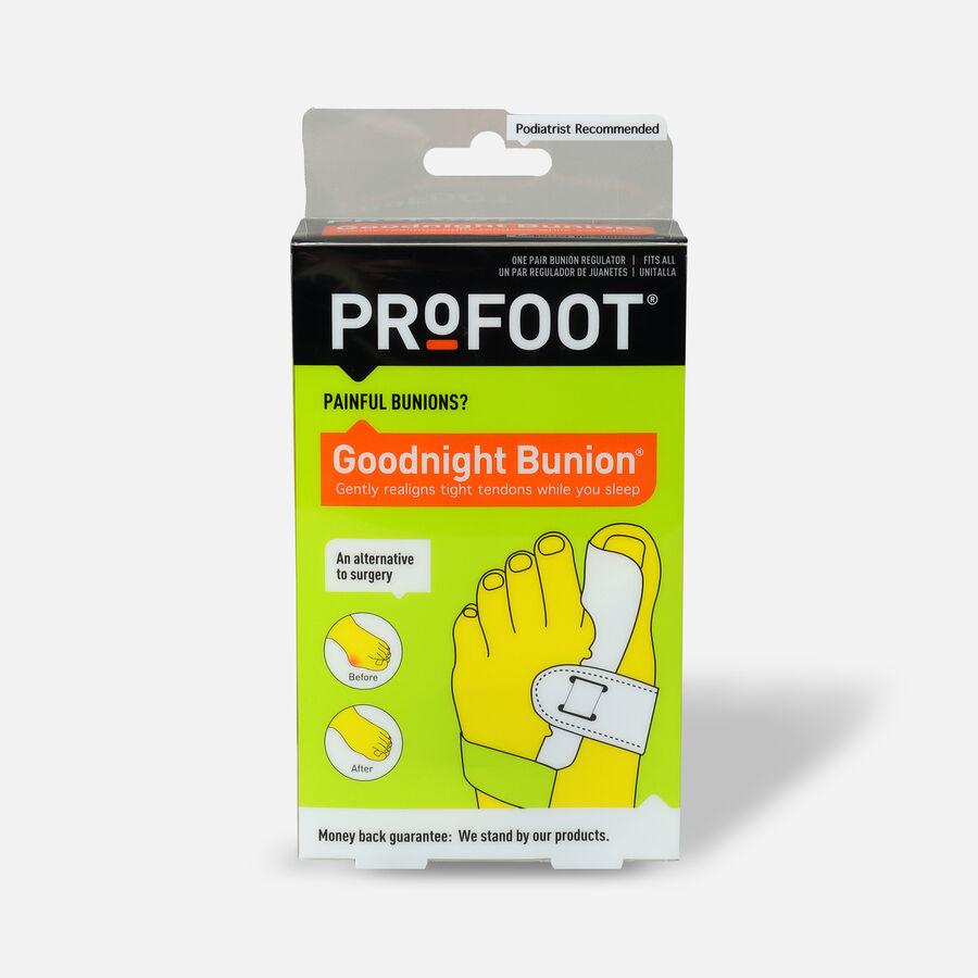 Profoot good night adjustable bunion regulator - 1 pair, , large image number 0