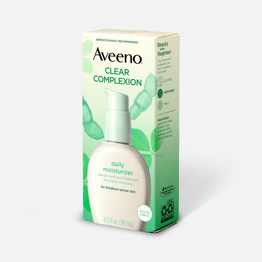 Aveeno Clear Complexion Face Moisturizer, 4oz, , large image number 4