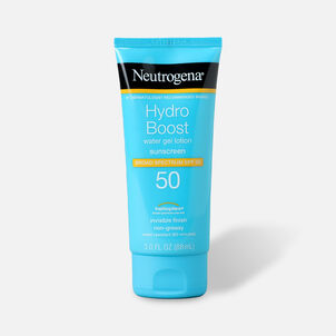 Neutrogena Hydro Boost Water Gel Non-Greasy Sunscreen Lotion, 3 fl. oz