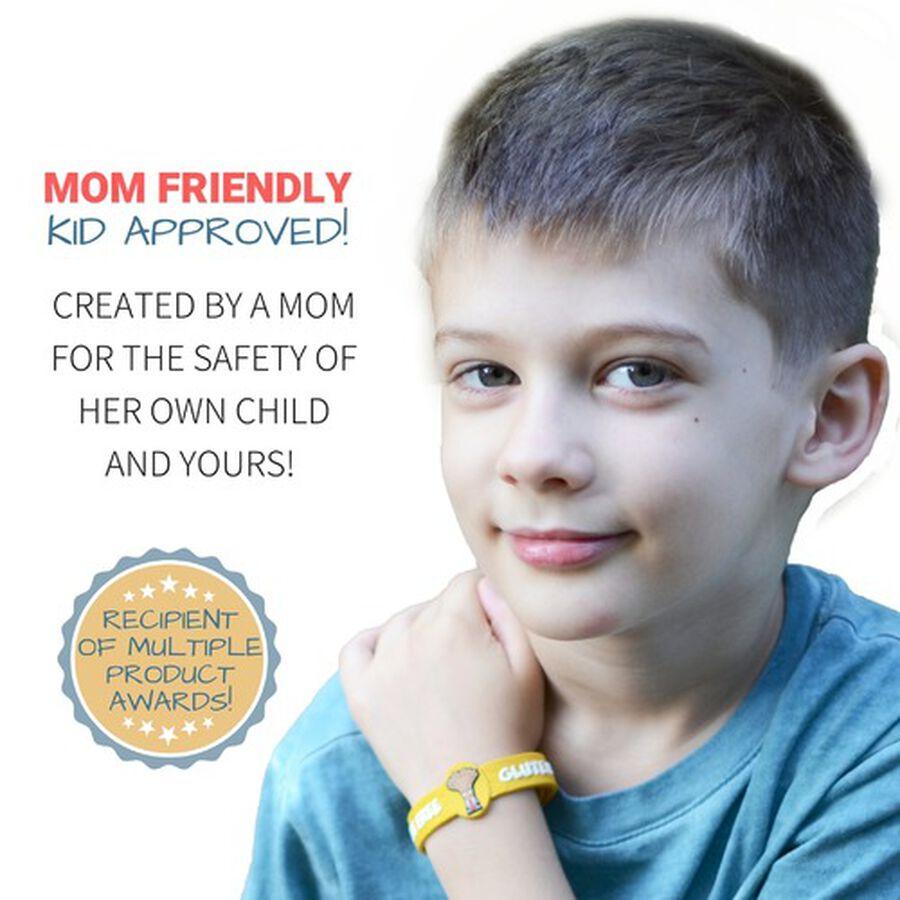 AllerMates Children's Allergy Alert Bracelet - Gluten Awareness, , large image number 3