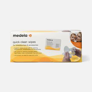 Medela Quick Clean Wipes, 40 ea