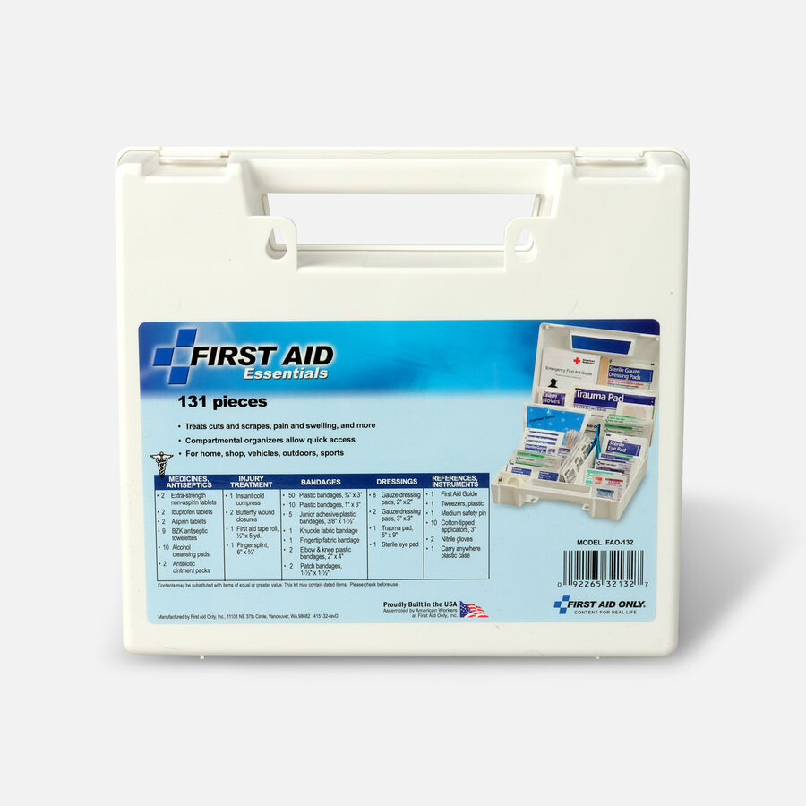 First Aid Kit Essentials, 131 Pc, , large image number 2