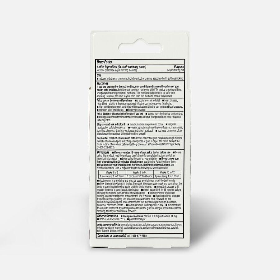 GoodSense® Coated Nicotine Polacrilex Gum 2 mg (nicotine), Mint, 20 ct, , large image number 1