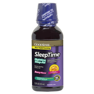 GoodSense® Sleep Time Liquid Berry, 12 oz
