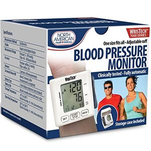 North American Wellness Blood Pressure Monitor with Case