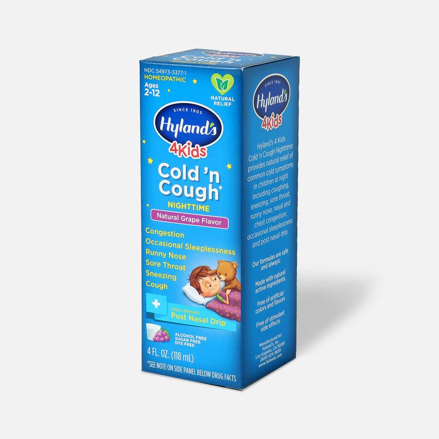 Hyland's 4 Kids Cold 'n Cough 4 Kids Cold 'n Cough Nighttime, 4oz, , large image number 2