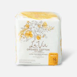 La Vie Organic Cotton Top Sheet Ultra-Thin Liners, 27ct
