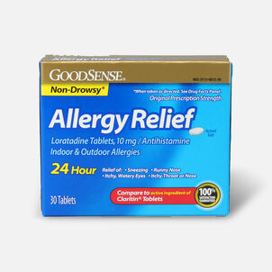 GoodSense® Allergy Relief Loratadine Tabs, 10 mg