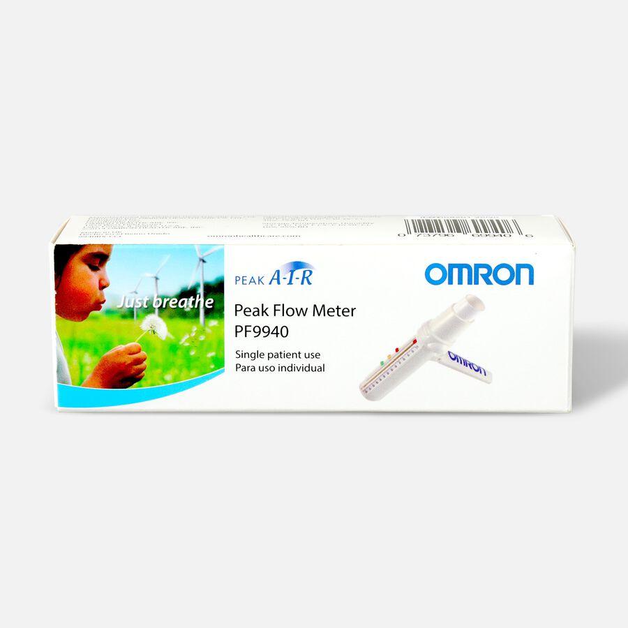 OMRON PeakAir Flow Meter, Adult or Pediatric, Model PF 9940, , large image number 0